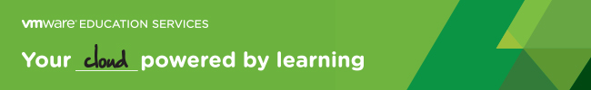VMware Educational Services