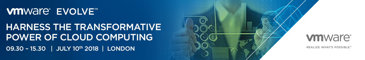 VMware Evolve: Harness the Transformative Power of Cloud Computing