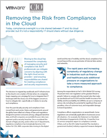 Removing the Risk from Compliance in the Cloud