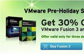 VMware Pre-Holiday Season Sale! Get 30% OFF