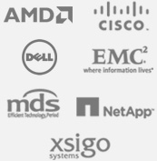 AMD, DELL, EMC, CISCO, mds, NetApp, xsigo